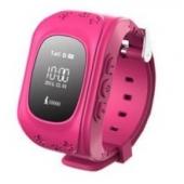 Детские часы с GPS трекером MonkeyG JM11 Pink
