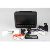 Универсальный монитор на подголовник с DVD и диагональю экрана 9 дюймов