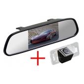 Зеркало + камера для BMW 3, 5, X5, X6