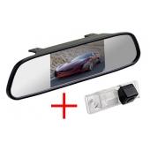Зеркало + камера для Chevrolet Aveo (2004-2011), Captiva (2006-), Cruze (2008-), Epica (2006-), Orlando (2010-), Lacetti, Lova