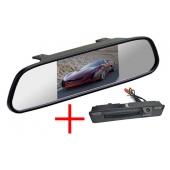 Зеркало + камера для Ford Focus 3 2015, 2016, 2017+ (SonyCCD 170 градусов)