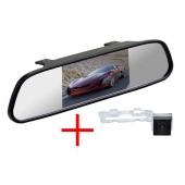 Зеркало + камера для Geely Emgrand EC7 седан (поверх плафона подсветки)
