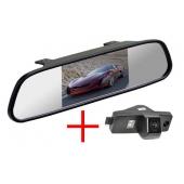 Зеркало + камера для Toyota HighLander 08+