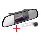 Зеркало + камера для Honda Civic 5D (до 2011)