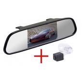 Зеркало + камера для Honda CR-V (2012-), Civic 5D (2012-), Crosstour (2013-)