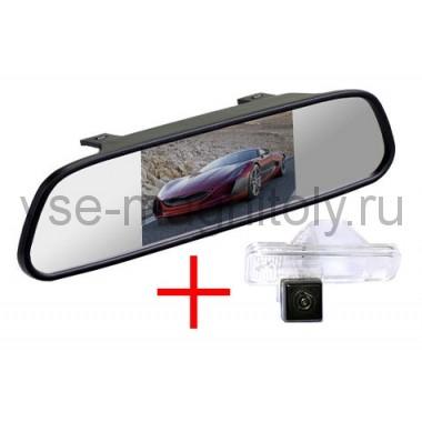 Зеркало + камера для Hyundai Santa Fe 2012+, Creta 2016+