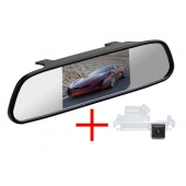 Зеркало + камера для Hyundai Solaris Hatchback 12+ / KIA Rio Hatchback, Ceed 2012+