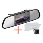 Зеркало + камера для Land Rover Freelander 2, Discovery 3, 4, Range Rover Sport