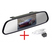 Зеркало + камера для Lexus ES240 (06+), ES350 (06+), RX270 (10+), RX350 (09+), RX450H (09+) / IS220d (07+), IS250 (05+), IS250C (09+), IS350 (05+), IS300, IS F