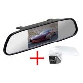Зеркало + камера для Mazda 3 (09-13) седан, 2 (07-16)