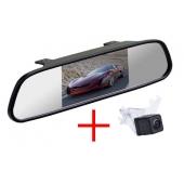 Зеркало + камера для Mazda 5 2010+