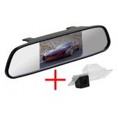 Зеркало + камера для Mazda 3 2014+ седан