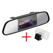 Зеркало + камера для Nissan Almera (13+), Teana, Tiida 04+ Sedan, Sentra 2014+ / Suzuki SX4 06+ Sedan