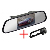Зеркало + камера для Nissan Tiida 2011+