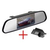 Зеркало + камера для Opel Astra, Vectra, Zafira, Corsa, Insignia, Meriva / Chevrolet Cobalt