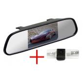 Зеркало + камера для Skoda Octavia 04+, Roomster 06+