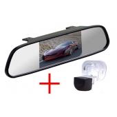 Зеркало + камера для Hyundai Solaris (sedan), Verna, Kia Cerato (09-12), Venga (10+)