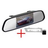 Зеркало + камера для Subaru XV 2010+