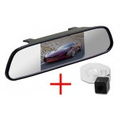 Зеркало + камера для Toyota Corolla (06-13)