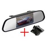 Зеркало + камера для Toyota Land Cruiser Prado 150 (запаска под полом) / Lexus RX270