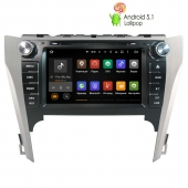 Toyota Camry с 2012 года LeTrun 1643 Android 5.1
